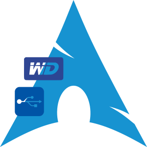 arch-linux-wd-usb