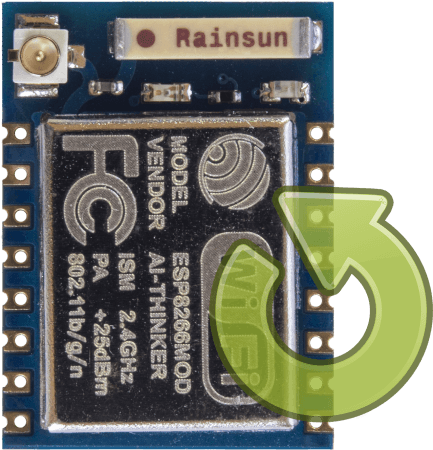 Flash / Update ESP8266 Wi-Fi module