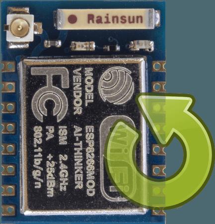 Flash / Update ESP8266 Wi-Fi module
