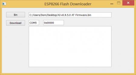 esp8266-flash-downloader