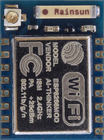 Wire & configure ESP8266 ESP07 Wi-Fi Module