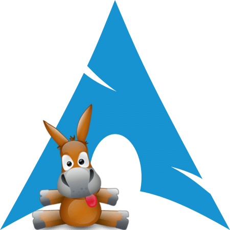 Install aMule the eMule like Client for e2Dk and Kademlia networks on Arch Linux
