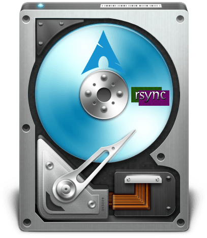 Upgrade Storage with Rsync in Arch Linux