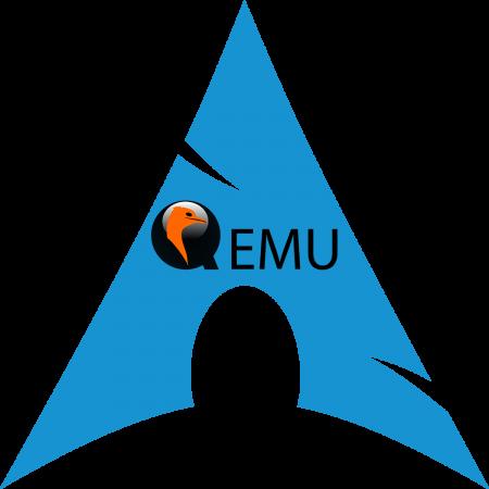QEMU Arch Linux logo