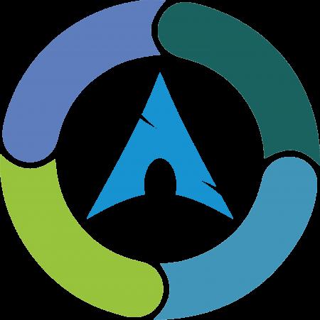 Synergy on Arch Linux logo